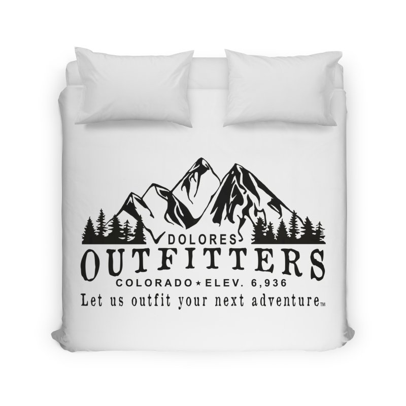 Dolores Outfitters Logo Home Duvet by dolores outfitters's Artist Shop