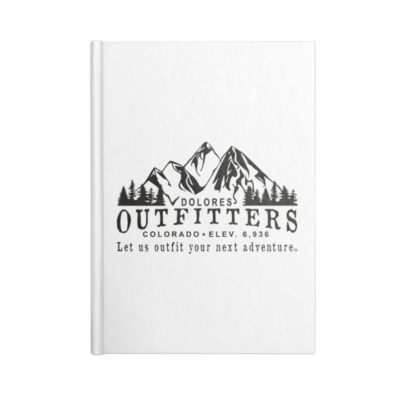 Dolores Outfitters Logo Accessories Lined Journal Notebook by dolores outfitters's Artist Shop