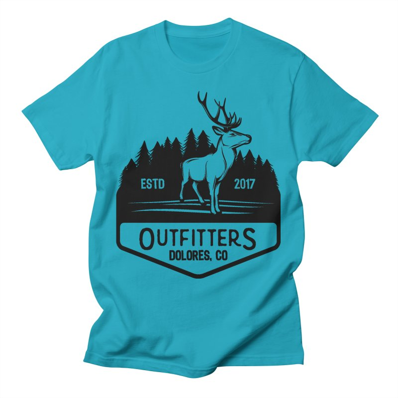 Outfitters Deer Logo Men's T-Shirt by dolores outfitters's Artist Shop