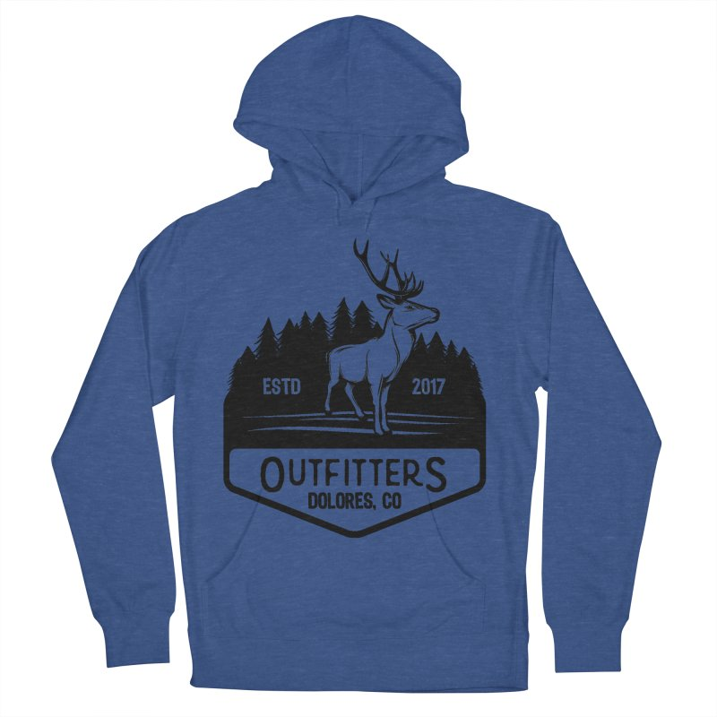 Outfitters Deer Logo Men's Pullover Hoody by dolores outfitters's Artist Shop