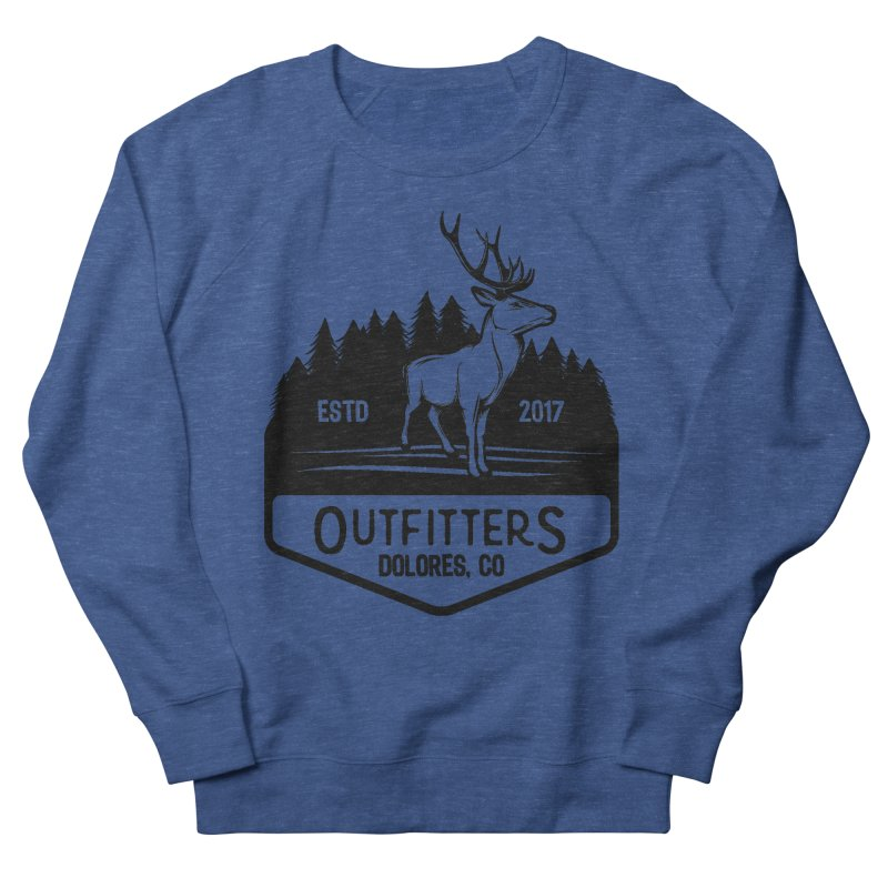 Outfitters Deer Logo Men's Sweatshirt by dolores outfitters's Artist Shop