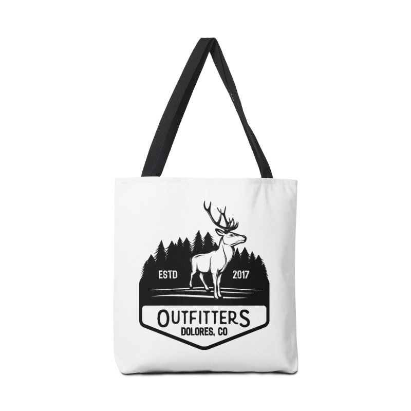 Outfitters Deer Logo Accessories Tote Bag Bag by dolores outfitters's Artist Shop