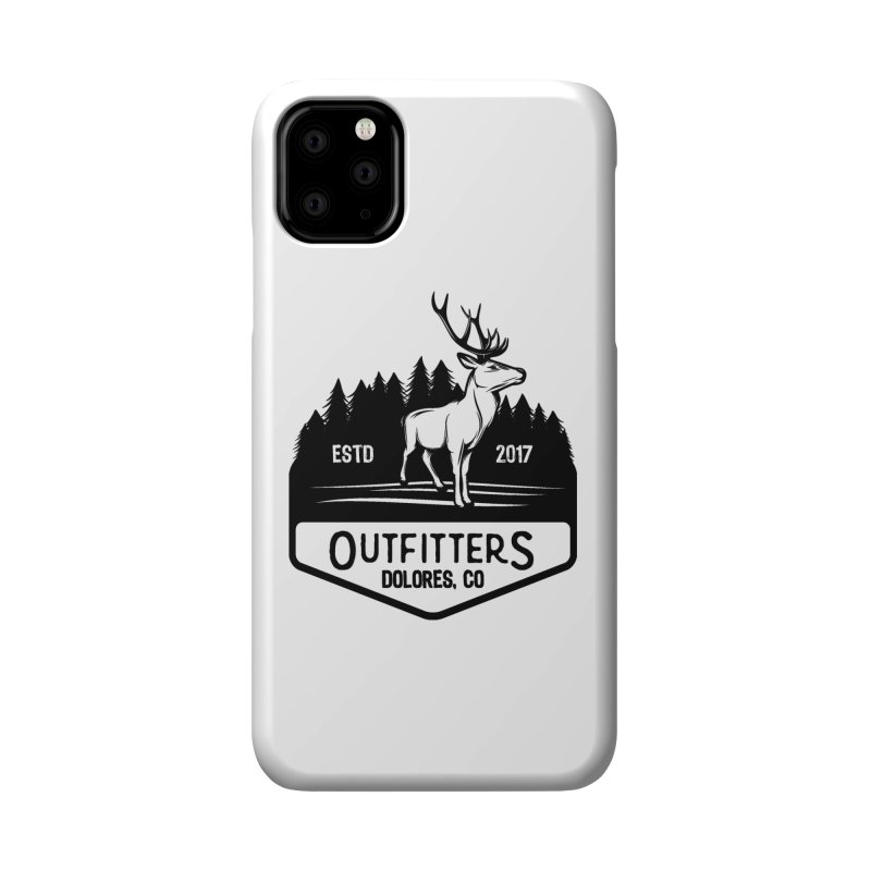 Outfitters Deer Logo Accessories Phone Case by dolores outfitters's Artist Shop