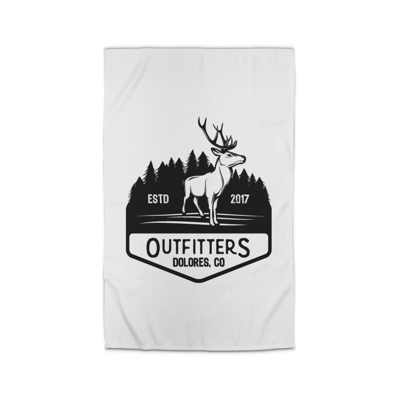 Outfitters Deer Logo Home Rug by dolores outfitters's Artist Shop