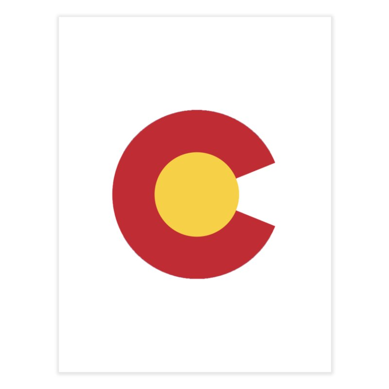 Colorado Home Fine Art Print by dolores outfitters's Artist Shop