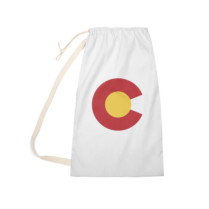 Colorado Accessories Laundry Bag Bag by dolores outfitters's Artist Shop