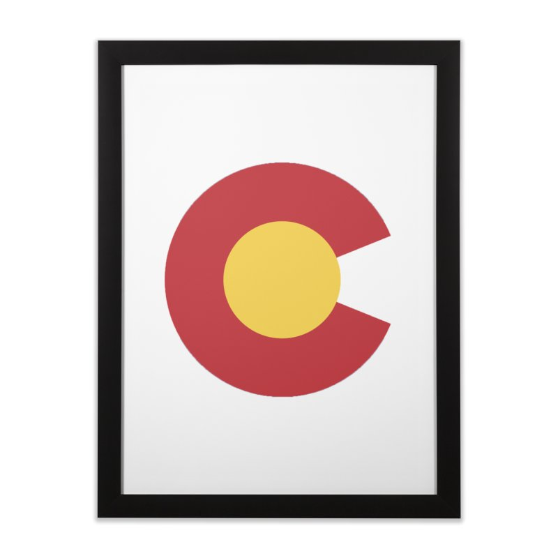 Colorado Home Framed Fine Art Print by dolores outfitters's Artist Shop