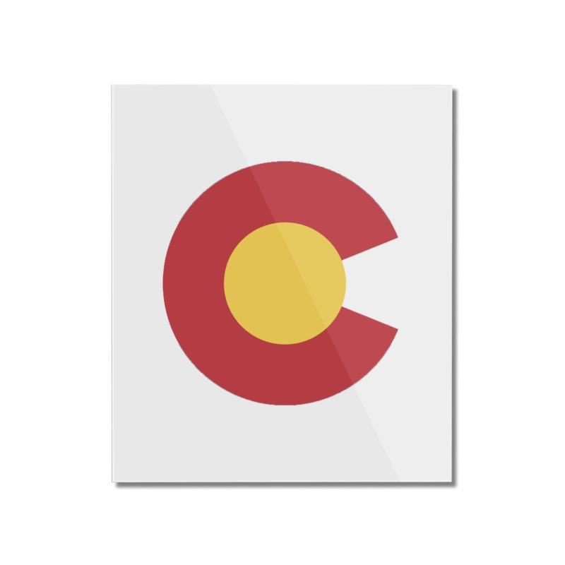 Colorado Home Mounted Acrylic Print by dolores outfitters's Artist Shop
