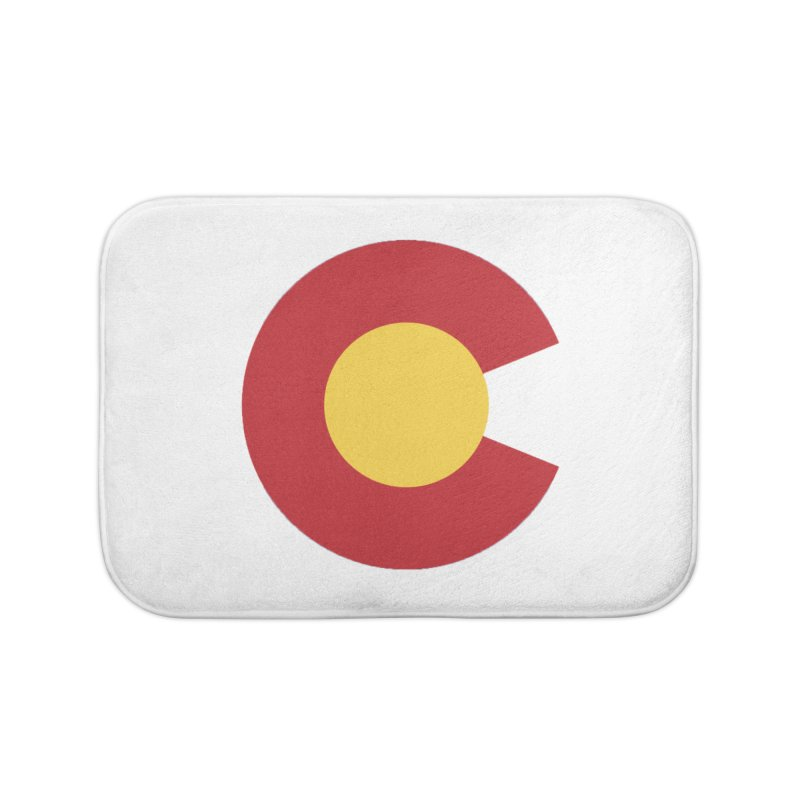 Colorado Home Bath Mat by dolores outfitters's Artist Shop