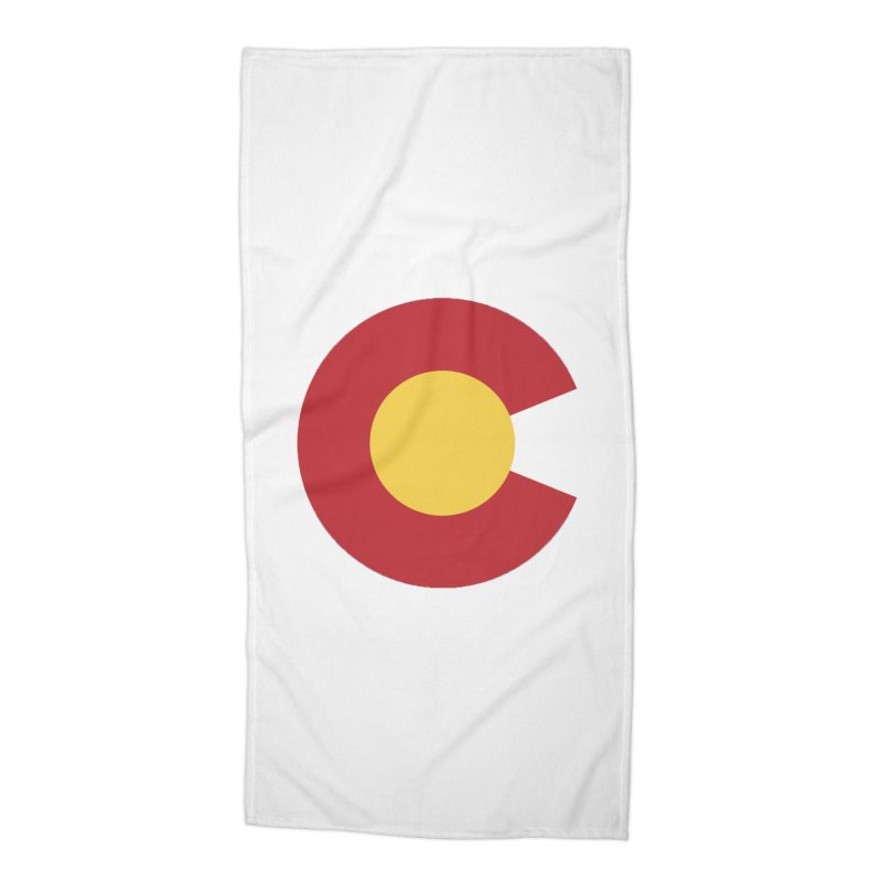 Colorado Accessories Beach Towel by dolores outfitters's Artist Shop
