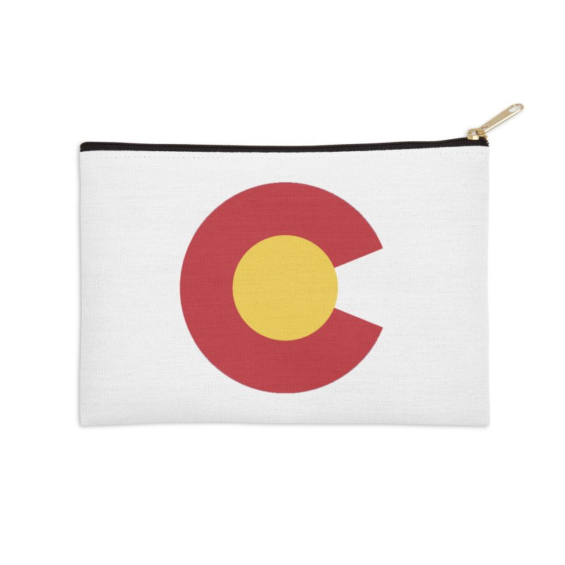 Colorado Accessories Zip Pouch by dolores outfitters's Artist Shop
