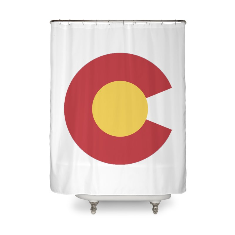 Colorado Home Shower Curtain by dolores outfitters's Artist Shop