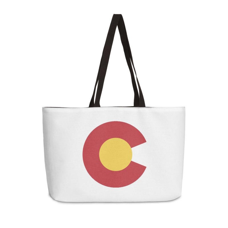 Colorado Accessories Weekender Bag Bag by dolores outfitters's Artist Shop