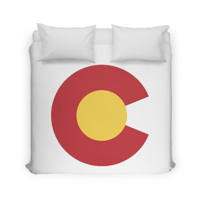 Colorado Home Duvet by dolores outfitters's Artist Shop