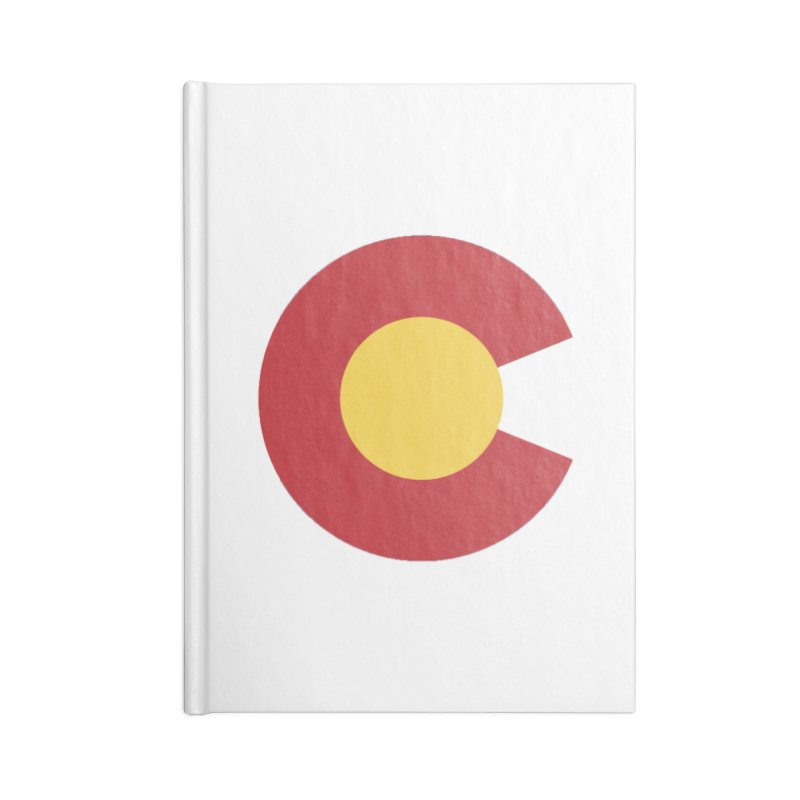 Colorado Accessories Blank Journal Notebook by dolores outfitters's Artist Shop