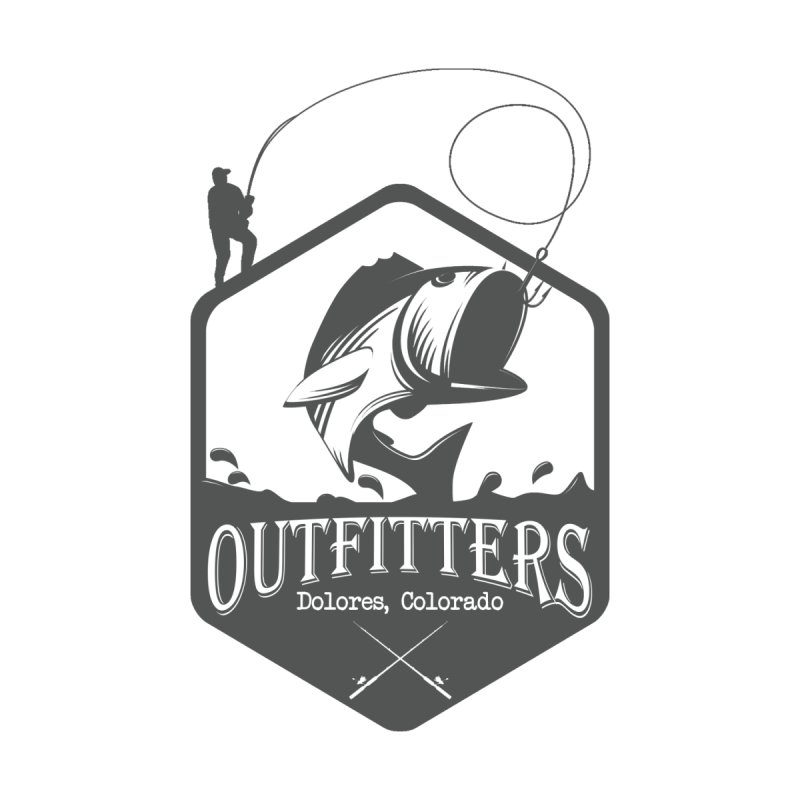 Outfitters Fishing Men's Pullover Hoody by dolores outfitters's Artist Shop