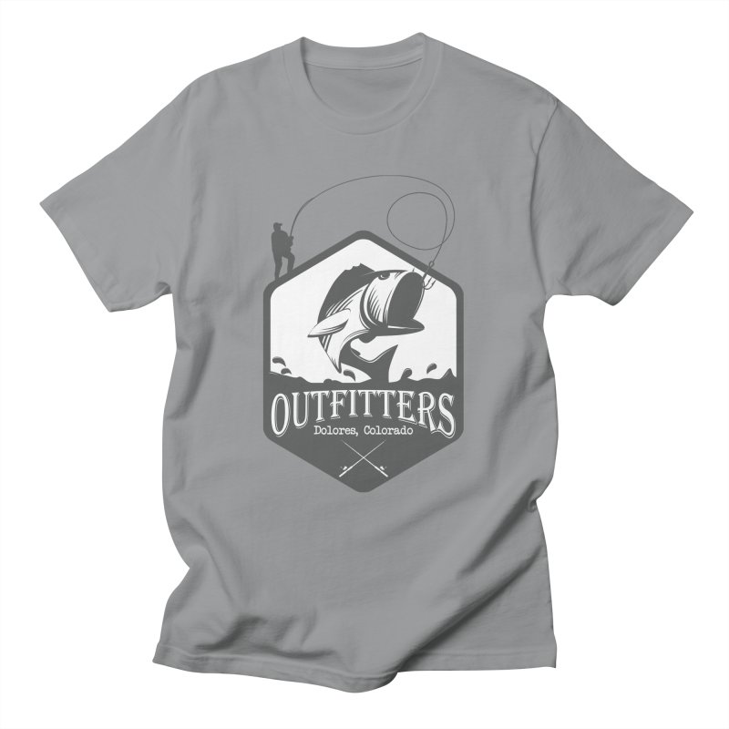 Outfitters Fishing Men's T-Shirt by dolores outfitters's Artist Shop
