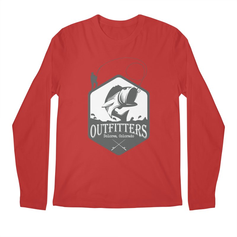 Outfitters Fishing Men's Longsleeve T-Shirt by dolores outfitters's Artist Shop