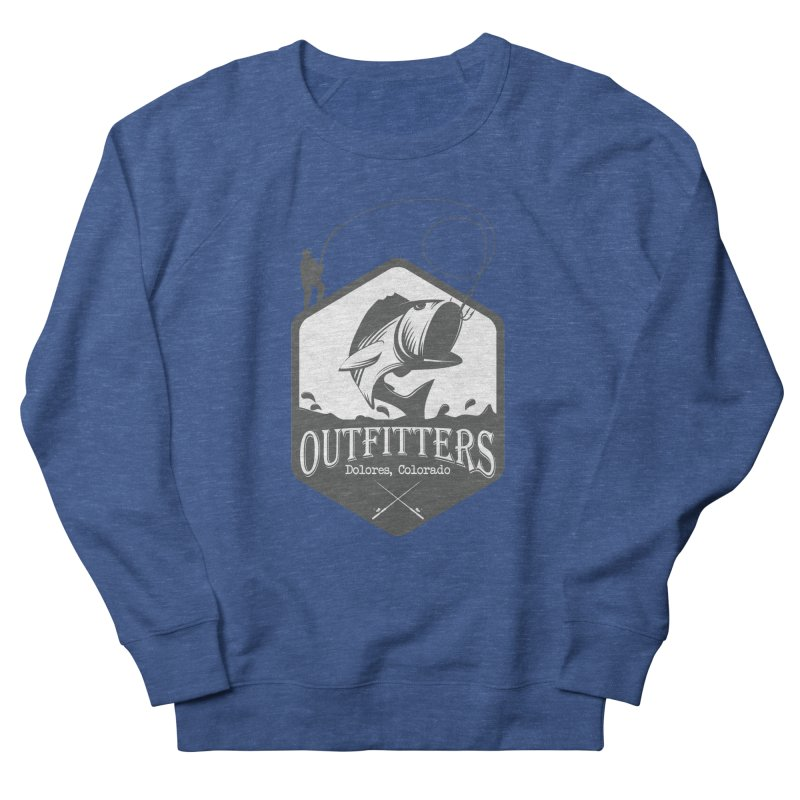 Outfitters Fishing Men's Sweatshirt by dolores outfitters's Artist Shop