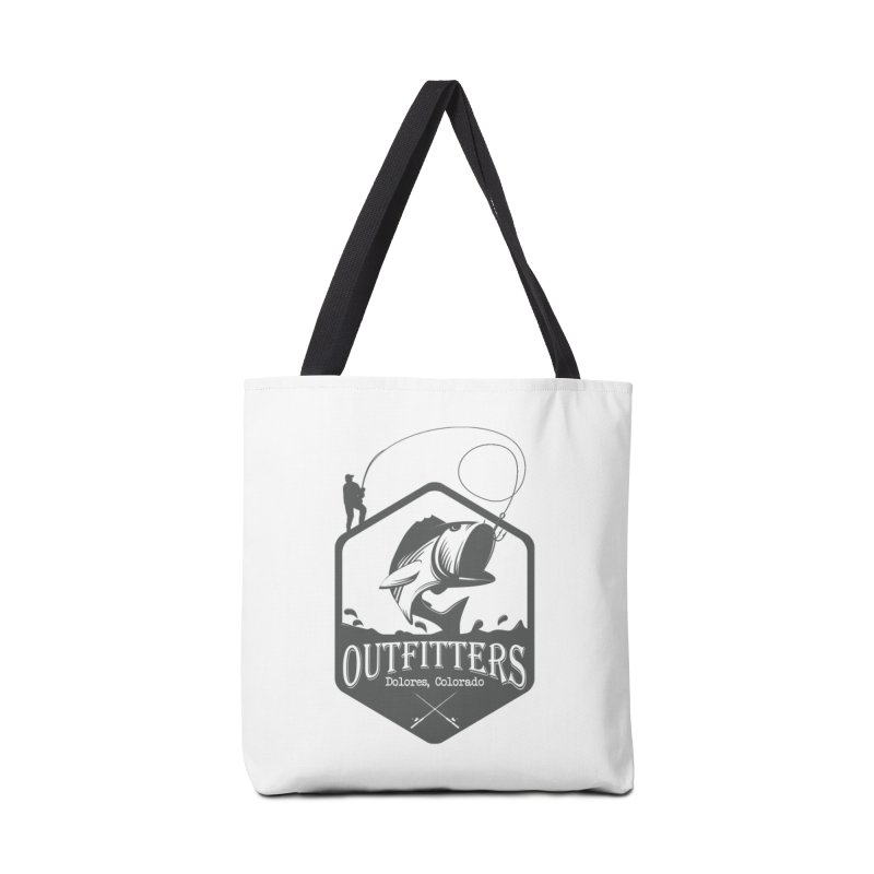 Outfitters Fishing Accessories Tote Bag Bag by dolores outfitters's Artist Shop