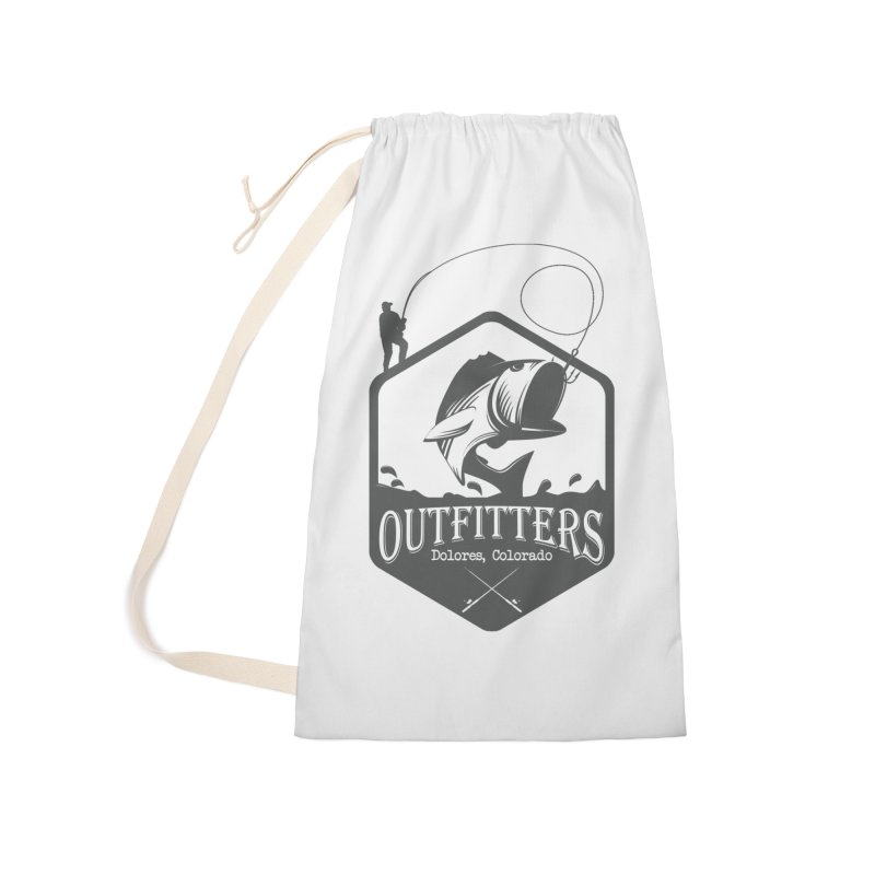 Outfitters Fishing Accessories Laundry Bag Bag by dolores outfitters's Artist Shop