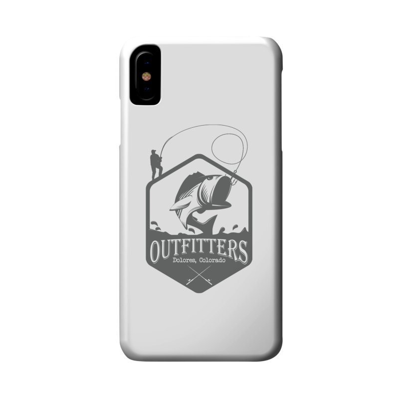 Outfitters Fishing Accessories Phone Case by dolores outfitters's Artist Shop