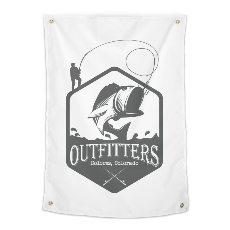 Outfitters Fishing Home Tapestry by dolores outfitters's Artist Shop