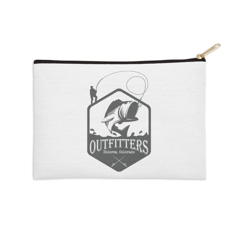 Outfitters Fishing Accessories Zip Pouch by dolores outfitters's Artist Shop