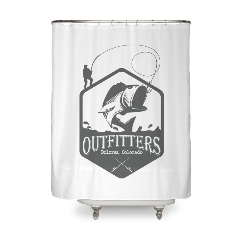 Outfitters Fishing Home Shower Curtain by dolores outfitters's Artist Shop