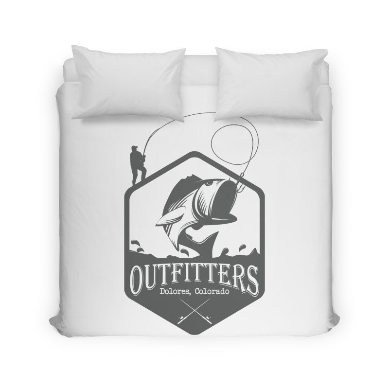 Outfitters Fishing Home Duvet by dolores outfitters's Artist Shop