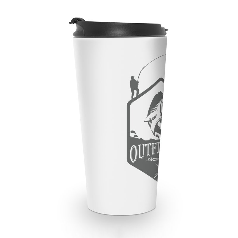 Outfitters Fishing Accessories Travel Mug by dolores outfitters's Artist Shop