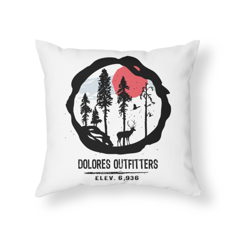 Outfitters Nature Home Throw Pillow by dolores outfitters's Artist Shop