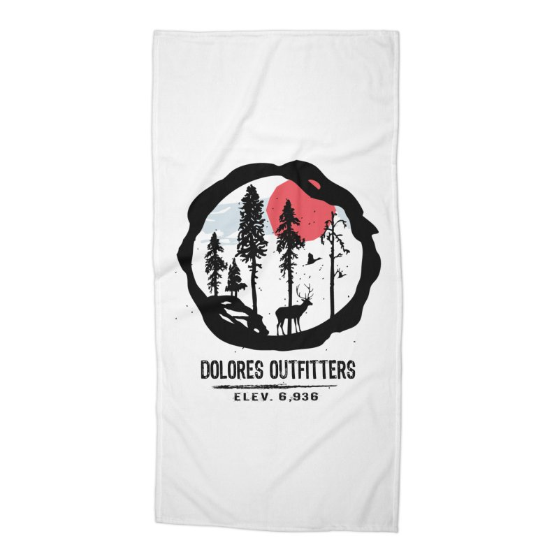 Outfitters Nature Accessories Beach Towel by dolores outfitters's Artist Shop