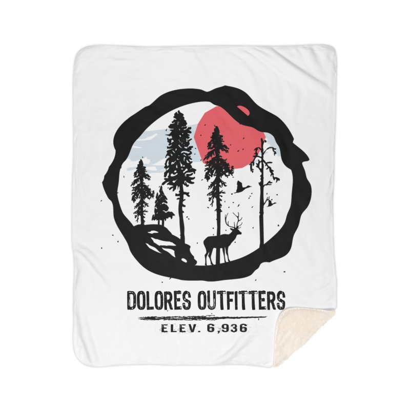 Outfitters Nature Home Sherpa Blanket Blanket by dolores outfitters's Artist Shop