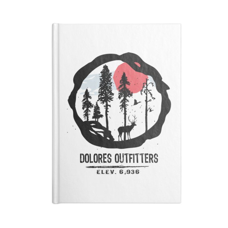 Outfitters Nature Accessories Blank Journal Notebook by dolores outfitters's Artist Shop