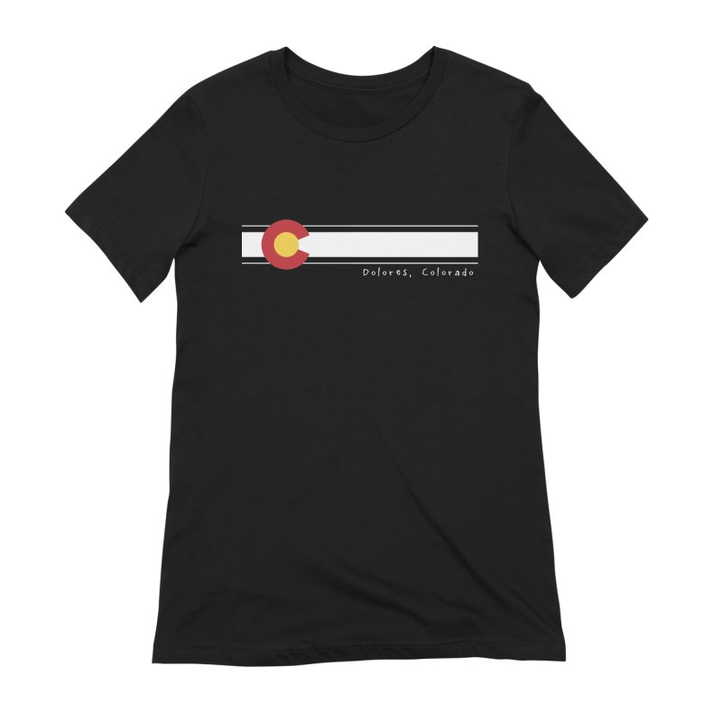 Colorado Flag Women's Extra Soft T-Shirt by dolores outfitters's Artist Shop