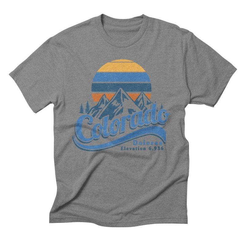 Dolores Colorado Men's T-Shirt by dolores outfitters's Artist Shop