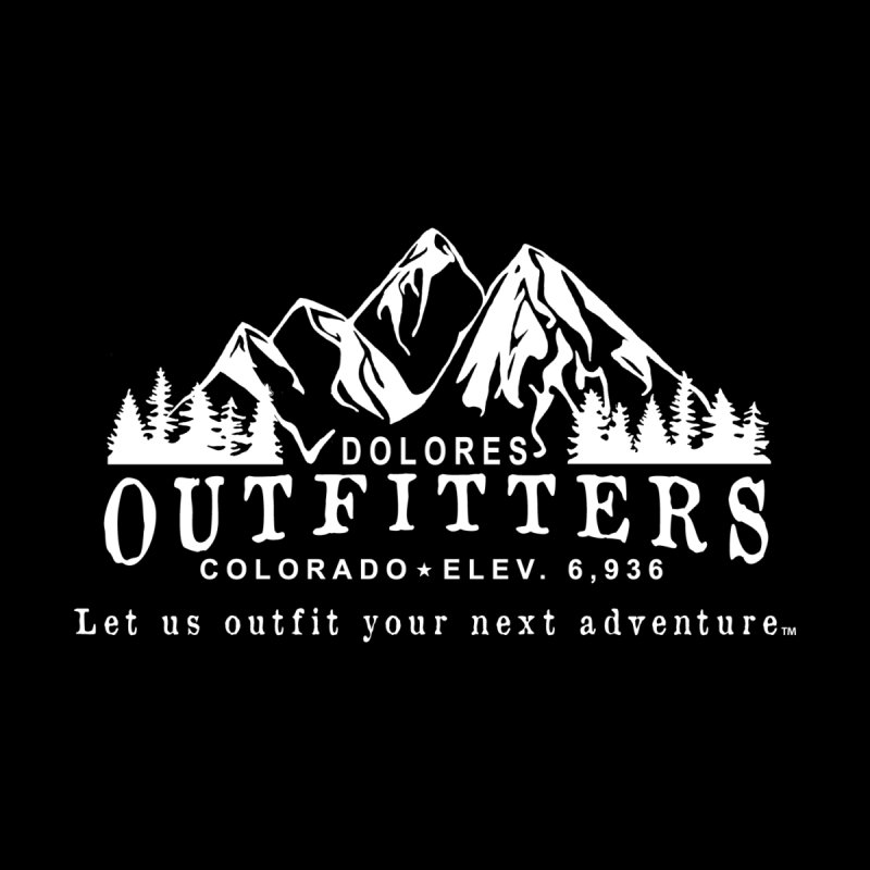 Dolores Outfitters Logo - White Men's T-Shirt by dolores outfitters's Artist Shop