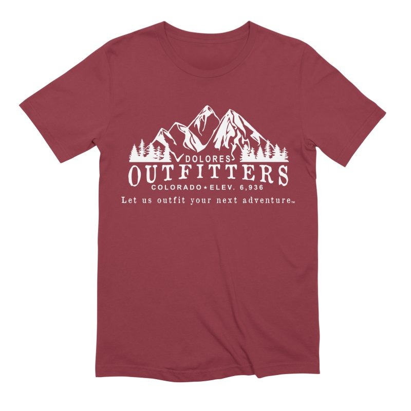 Dolores Outfitters Logo - White Men's Extra Soft T-Shirt by dolores outfitters's Artist Shop