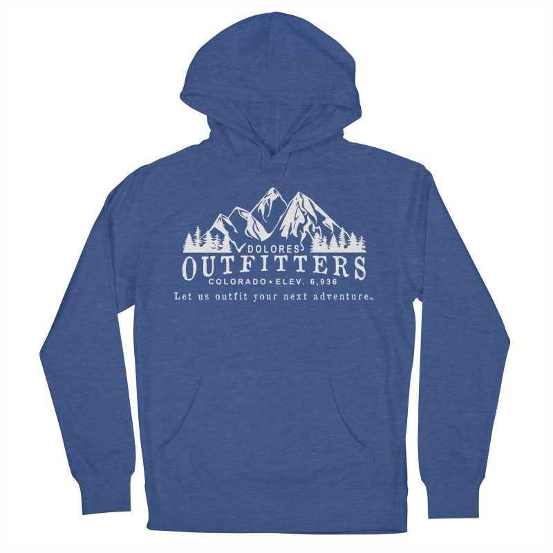 Dolores Outfitters Logo - White Women's French Terry Pullover Hoody by dolores outfitters's Artist Shop