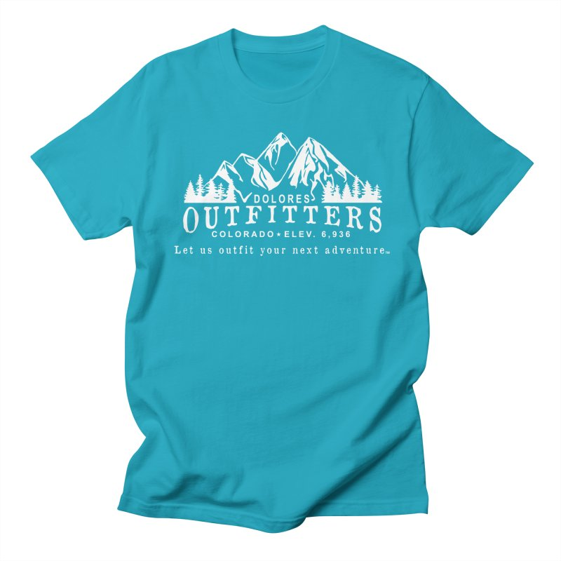 Dolores Outfitters Logo - White Women's Regular Unisex T-Shirt by dolores outfitters's Artist Shop