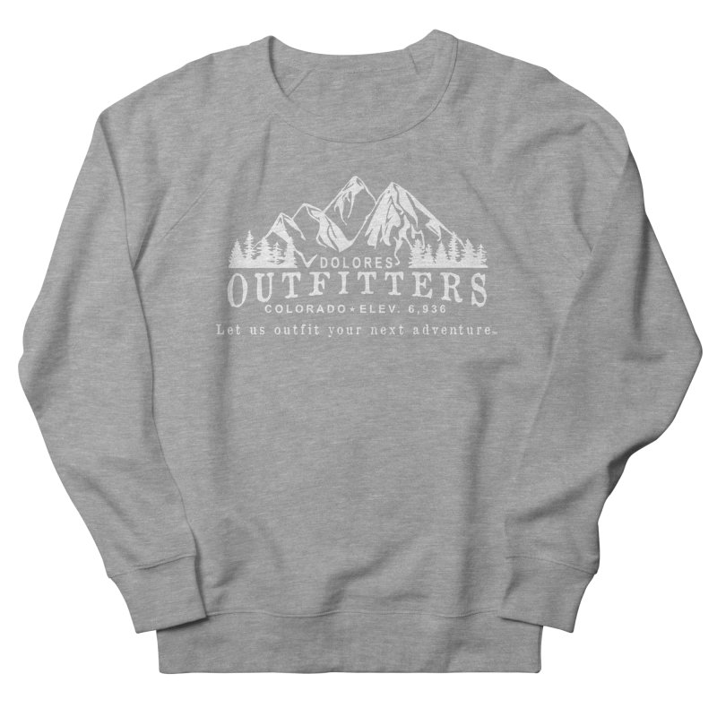 Dolores Outfitters Logo - White Men's French Terry Sweatshirt by dolores outfitters's Artist Shop