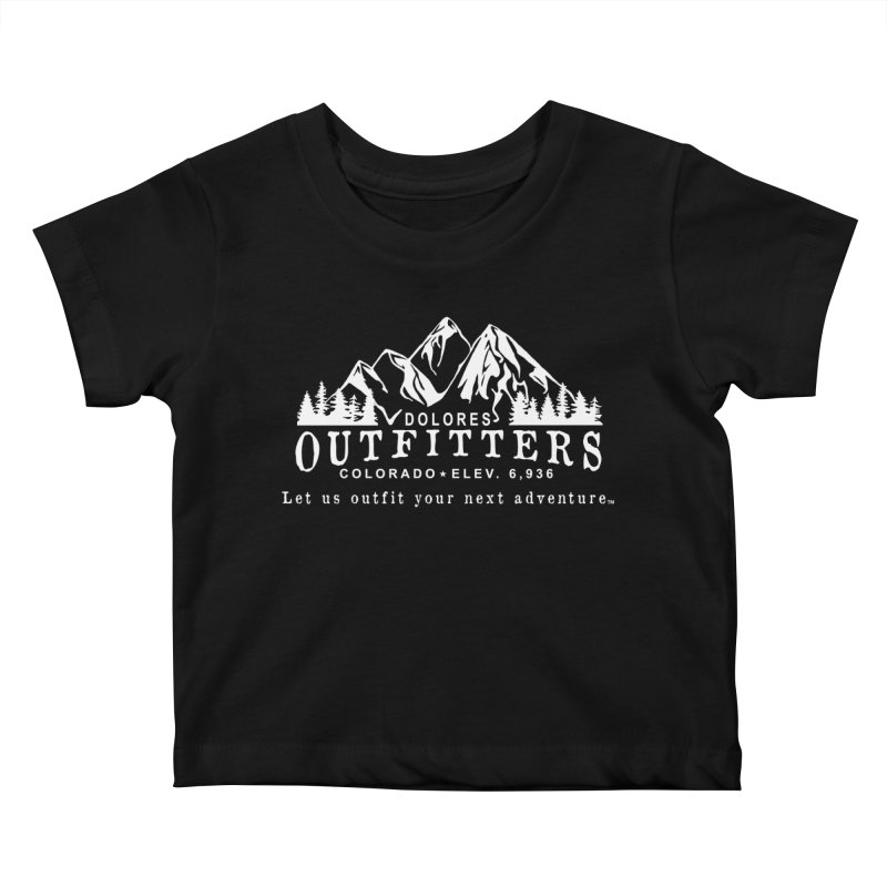 Dolores Outfitters Logo - White Kids Baby T-Shirt by dolores outfitters's Artist Shop