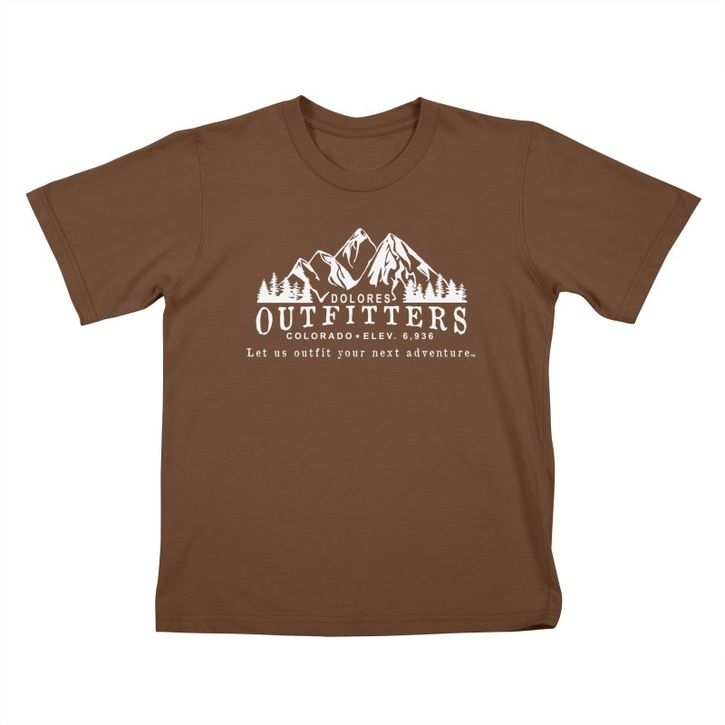 Dolores Outfitters Logo - White Kids T-Shirt by dolores outfitters's Artist Shop