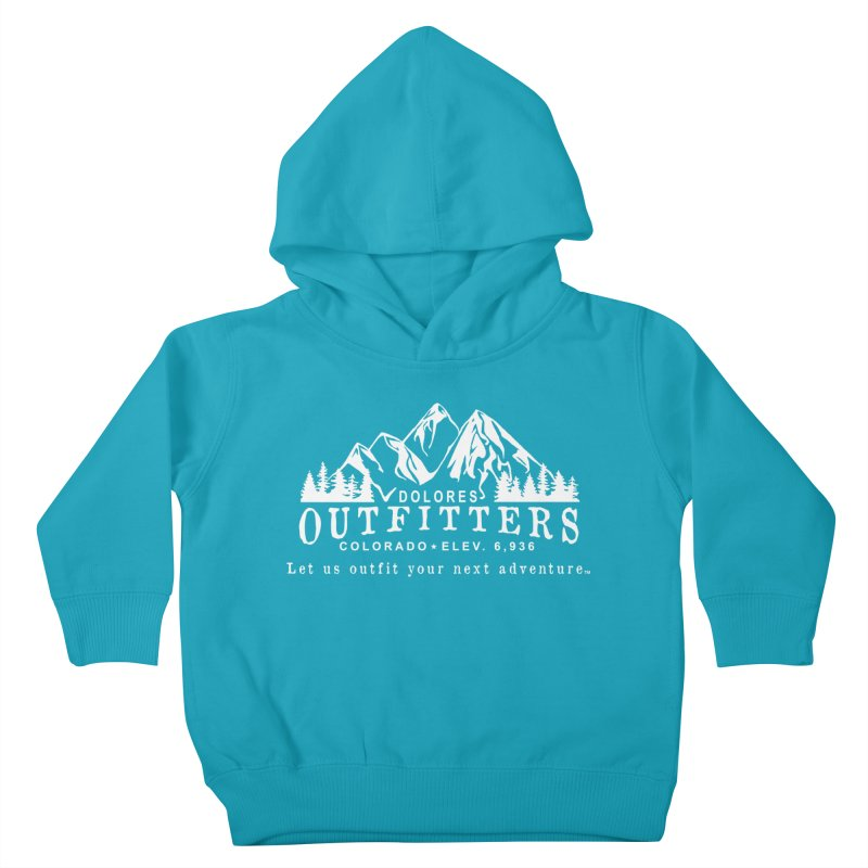 Dolores Outfitters Logo - White Kids Toddler Pullover Hoody by dolores outfitters's Artist Shop