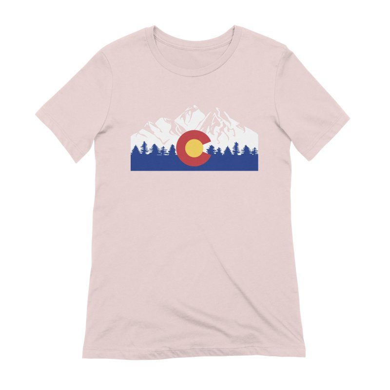 Outfitters Colorado Logo Women's Extra Soft T-Shirt by dolores outfitters's Artist Shop
