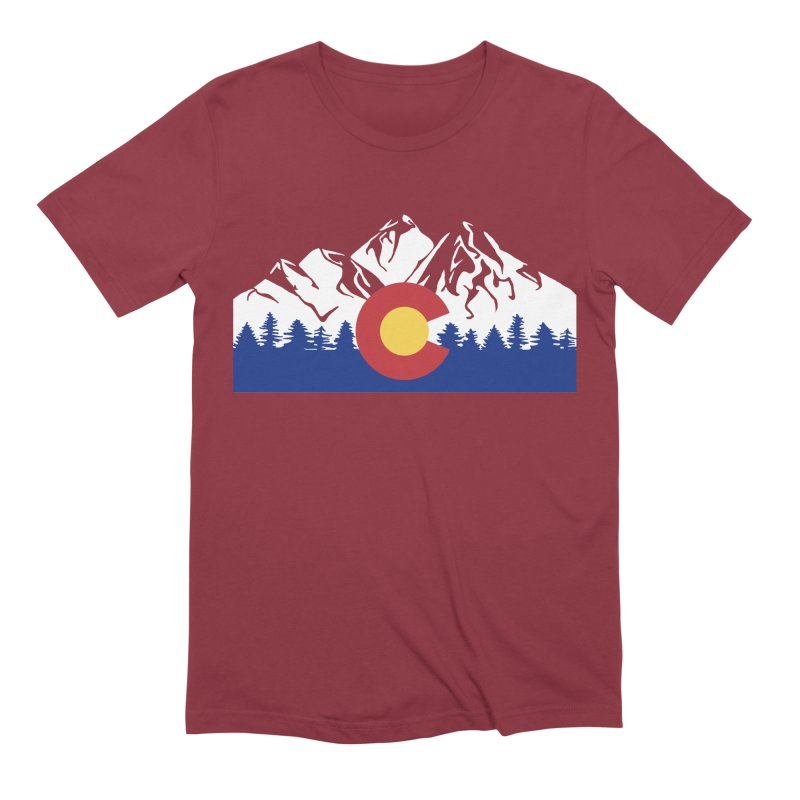Outfitters Colorado Logo Men's Extra Soft T-Shirt by dolores outfitters's Artist Shop
