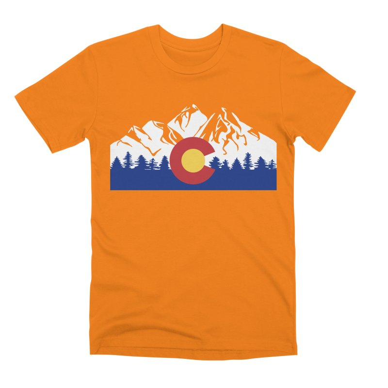 Outfitters Colorado Logo Men's Premium T-Shirt by dolores outfitters's Artist Shop