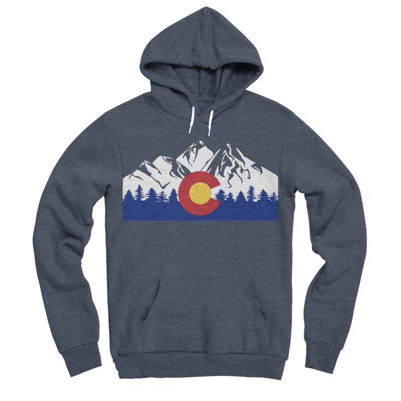 Outfitters Colorado Logo Women's Sponge Fleece Pullover Hoody by dolores outfitters's Artist Shop
