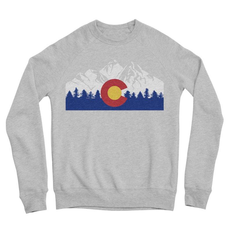 Outfitters Colorado Logo Men's Sponge Fleece Sweatshirt by dolores outfitters's Artist Shop